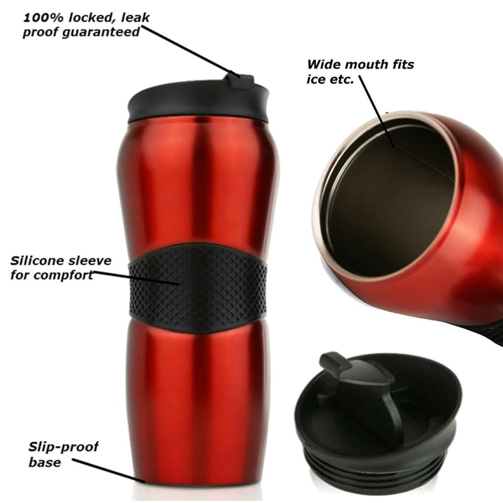 Swivgo Insulated Travel Mug with Stainless Steel